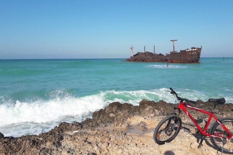 دوچرخه سواری در جزیره کیش